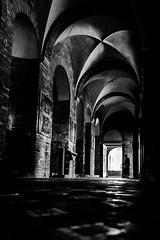 The Secrets (Andrea LD) Tags: blackandwhite bw macro church canon eos blackwhite sigma os bn explore 7d bologna 1770 hsm 1770mm f284 abbaziasantostefano