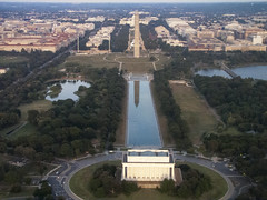 The National Mall, Washington (Bill in DC) Tags: washingtondc flight nationalmall lincolnmemorial washingtonmonument flights 2013 powershotsx1is