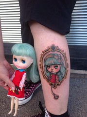 A tattoo i nave made for  blythe fan <3