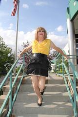 new92894-IMG_0262t (Misscherieamor) Tags: stairs tv feminine cd flag windy tgirl transgender mature sissy tranny transvestite slip showing miniskirt crossdress ts gurl tg travestis travesti travestie m2f xdresser tgurl
