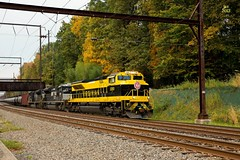 Norfolk Southern 1069 (Virginian Heritage) @ Langhorne, Pa. (Chessie 2117) Tags: trains railroads norfolksouthern langhorne railroadphotography trainphotos railroadphotos heritagelocomotives railroadimages