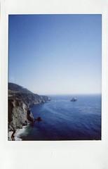 Big sur (teacup_dreams) Tags: california polaroid coast big pacific sur instax