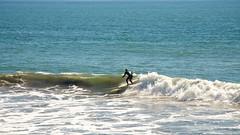 Come On Riding (4oClock) Tags: ocean california blue summer usa sun west beach sunshine america fun bay nikon surf waves ride pacific small north sunny september american norcal nikkor halfmoonbay sanmateo wetsuit elgranada d90 northcalifornia 2013 18105mm nwa13