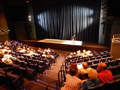 Theatre Audience at Interval (mikecogh) Tags: audience theatre stage curtain seats adelaide cbd interval