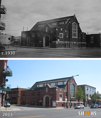 Livingstone Presbyterian (1930s & 2013) (SHPEHS) Tags: 1931 1930s beforeandafter parkextension builtheritage jeantalonouest