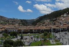 Cuzco Plaza de Armas Peru 08 (Rafael Gomez - http://micamara.es) Tags: world plaza heritage peru cuzco del de la cusco armas per unesco guerrero humanidad patrimonio qosqo ph559 qusqu