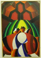 Milan Laluha, The Village, 1964 (DeBeer) Tags: art painting landscape village modernart slovakia 1960s 20thcentury bratislava 1964 modernpainting 20thcenturyart neocubism mid20thcentury galanda 20thcenturypainting laluha slovakart bratislavacitygallery slovakpainting postwarpainting milanlaluha galandagroup
