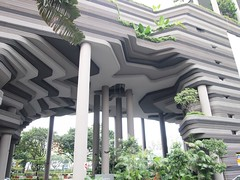 ParkROYAL on Pickering, Singapore, by WOHA. (HeyItsWilliam) Tags: travel green architecture hotel singapore asia hospitality parkroyal pickering woha archdaily