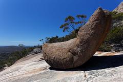 20131117-25-Glacial erratic on Mt Amos.jpg (Roger T Wong) Tags: park red rock trek eos walk hike national granite l np bushwalk ef 1740mm f4 canonef1740mmf4lusm 1740 tramp freycinet canon1740f4l lcanon usmcanon glacialerratic canoneos6d coastnational parkfreycinettasmaniaaustraliaeast coacanon 6dfreycinetnpbushwalkglacial erraticgranitehikeredrocktramptrekwalktasmaniaaustraliafreycinet