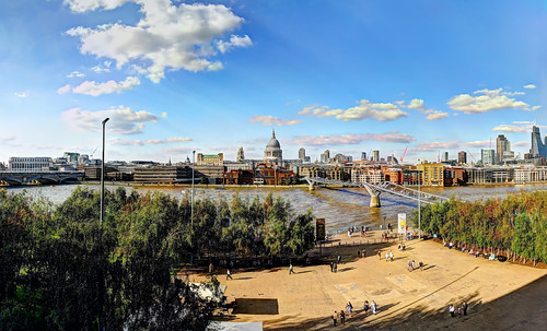 Across the Thames from the Tate Modern Balcony