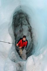 Fox Glacier 3 (Peppe Mancuso / www.exploras.net) Tags: travel newzealand travelling ice trekking glacier climbing nz guide peppe travelpictures mancuso peppemancuso
