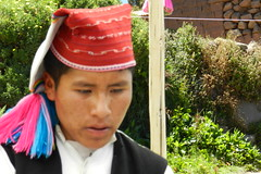 Lago Titicaca Isla Taquile su gente Peru 20 (Rafael Gomez - http://micamara.es) Tags: peru titicaca lago gente perú su taquile isla intika