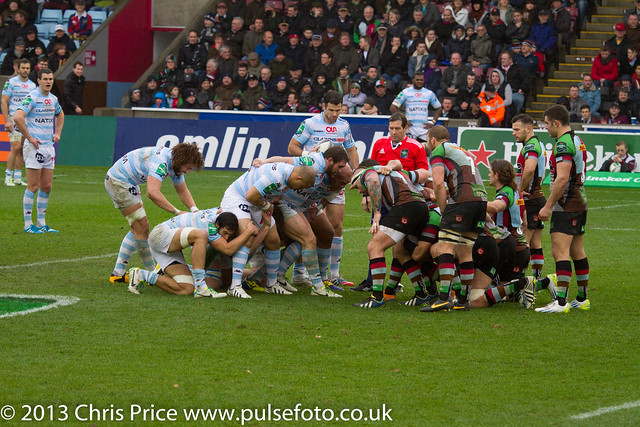 Quins 17 Racing Metro 92 3 15th dec 2013