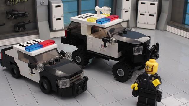 lego 4x4 suburban police legos lapd 3500 chevysuburban legopolice brickpolice brickpolicecom