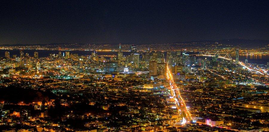 Ночь в Сан Франциско