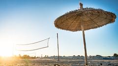 Djerba, Tunesien (Alex Harbich) Tags: sky orange holiday alex strand sand meer fuji sonnenuntergang sundown djerba urlaub himmel gelb fujifilm alexander blau sonne ferien tunesien froschperspektive sandstrand alpha4 harbich xf1855