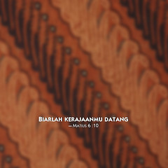 batik-parang, 2014 jehovah's witnesses yeartext for ipad, ipadmini, iphone, ipod, android BAHASA