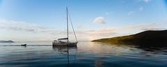 Sailing boat on the Withsundays (Jaap van der Heijden) Tags: blauw