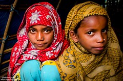 Village girls (Aditya mushfiq) Tags: street winter portrait people woman color girl religious prime daylight lowlight nikon child style 20mm dailylife bangladesh narayanganj d7000