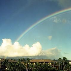 (brennanmackay) Tags: hawaii rainbow cross kodak kauai poipu process ektachrome