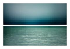[UMGEKEHTR: Meer am Himmel] (Curro Rodrguez Visual Artist) Tags: ocean blue sea storm art water mar agua bleu tormenta conceptual pisco oceano blurism
