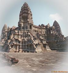 Angkor Pano (mckenart) Tags: travel panorama buildings temple cambodia khmer buddhism angkorwat sacred