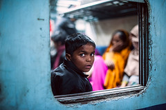 The Window Seat (ayashok photography) Tags: india window look station asian kid nikon asia indian railway agra junction desi bharat bharath desh barat cwc indianrailways uttarpradesh barath nikkor50mm 2013 ayashok nikond700 chennaiweekendclickers ayashokphotography agrafortrailywaystation agraday20980lab