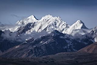 Himalaya - West of  Shishapangma