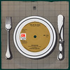 A&M place setting sleeve - Hudson-Ford - Pick Up The Pieces (Leo Reynolds) Tags: xleol30x sleeve cover 45rpm record single vinyl platter disc ebay plate knife fork canon eos 40d 0125sec f80 iso100 60mm 033ev 7inch hpexif xx2014xx