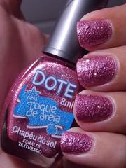 Chapéu de Sol -  Dote (Natalia Breda) Tags: rosa dote desafio esmaltenacional liquidsand