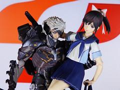 Konami love (viciousbunny) Tags: game love metal toy rising gear figure plus konami raiden maxfactory takane manaka revoltech figma {vision}:{outdoor}=0586 {vision}:{mountain}=0506