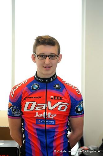 Ploegvoorstelling Davo Cycling Team (14)