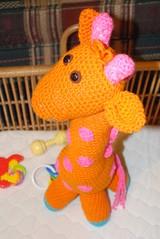 Paula Munroe (The Crochet Crowd) Tags: mikey giraffe redheart crochettoy mysteryadventure freeamigurumipattern mysterycrochetalong thecrochetcrowd michaelsellick freeonlinetutorial thecrochetcrowdcrochetalong freegiraffecrochetpattern freecrochetvideo