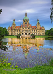 Germany - Hannover - City Hall (.Markus Landsmann) Tags: panorama lake reflection architecture germany garden landscape deutschland see cityscape cityhall hannover architektur rathaus landschaft garten spiegelung hdr reflektion rathaushannover markuslandsmannzenfoliocom markuslandsmann markuslandsmannphotography