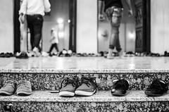 Muslim routine - Dubai, UAE-1 (Boris Lemon Photo) Tags: walking shoes dubai faith religion uae streetphotography mosque routine
