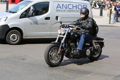 Fxdf Fat Bob (kenjonbro) Tags: uk england black london westminster trafalgarsquare harleydavidson charingcross sw1 fatbob 2011 worldcars fxdf 1584cc kenjonbro canoneos5dmkiii fx61cuy canonzoomlensef70300mm1456isusm
