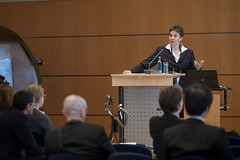 Katrin Dziekan addressing participants