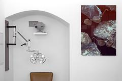 Herr Menig in Space - In-Store View (Philipp Zurmoehle) Tags: art rock collage stone digital print glasses store artwork rocks stones space herr meteor nürnberg optician weltraum optik andywolf menig herrmenig herrmenigoptik