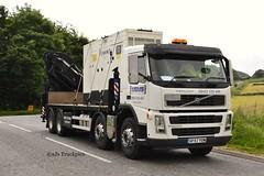 Volvo FM  MEMS Power Generation (SJS Truck & Transport Photography.) Tags: volvo transport cranes trucks heavy lifting lorries