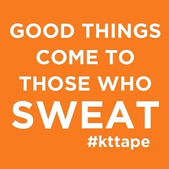 Sweat is magic. Cover yourself in it daily to grant your wishes. #kttape (Recover Faster, Play Harder) Tags: magic tape sweat wishes motivation kt goodthings kttape sweatismagic