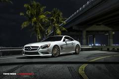 Mercedes SL550 | Vossen VFS2 Satin Bronze (VossenWheels) Tags: bronze flow photography mercedes technology miami wheels automotive sl form satin vossen vfs2