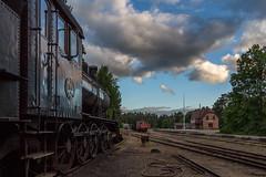 Brsarps station (MagnusBengtsson) Tags: station skne sverige sommar sterlen gammalt brsarp museijrnvg sknskajrnvgar