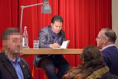 Hamed Abdel-Samad (Steffen Sh) Tags: hamed abdelsamad lesung literatur rosdorf darmstadt kultur der koran botschaft liebe des hasses islam schmkerstube