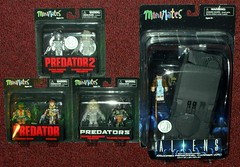 TRU - MiniMates Predator & Aliens (Darth Ray) Tags: tru minimates predator aliens toysrus toys r us 2 water emerge cloaked warrior thermal dutch predators berserker falconer battle damaged armored personnel carrier apc ellen ripley