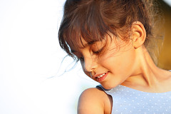 shy smile (Ula_Jay) Tags: portrait kids beingyoung smile summer girl
