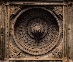 ChennaKesava Temple, Somnathapura - Entrance Ceiling (bikashdas) Tags: mysore karnataka india ind chennakesava somnathpura mandyadistrict chennakesavatemple hoysala hoysalaarchitecture