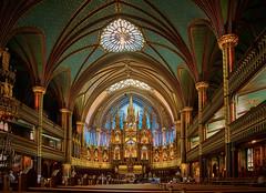 Montreal (szeke) Tags: 2013 canada canon7d montreal notredamebasilicamontreal quebec ca