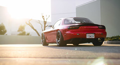 FD RX7 (_dpod_) Tags: mazda fd rx7 stance fitment te37 rays volk racing purist group