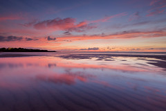 Reflections of Mindil (Louise Denton) Tags: mindil beach darwin nt northernterritory sunset australia reflection pink lowtide tourism red