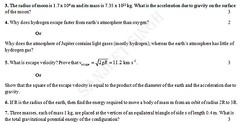 Gravitation (PhysicsGurukul) Tags: physics physicsgurukul physicsgurukulcom wwwphysicsgurukulcom gravitation problems numericals